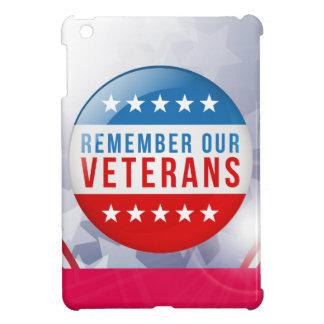 愛国心が強い私達の復員軍人の日の赤い青旗賞を覚えて下さい iPad MINI CASE