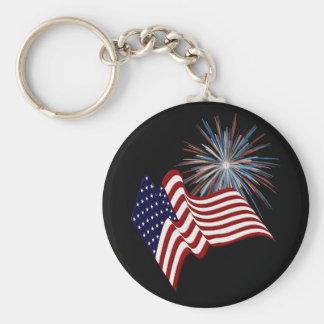 愛国心が強い米国のキーホルダー キーホルダー