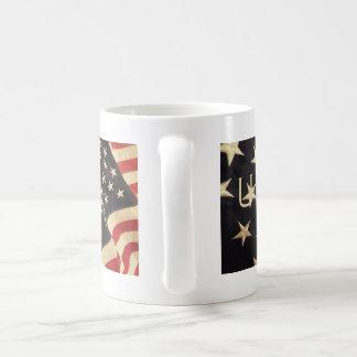 愛国心が強い米国のマグ コーヒーマグカップ