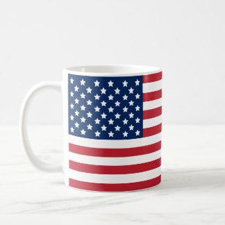 愛国心が強い米国の旗| コーヒーマグカップ