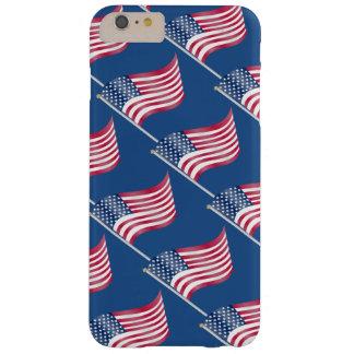 愛国心が強い米国の米国旗の星のストライプなパターン BARELY THERE iPhone 6 PLUS ケース