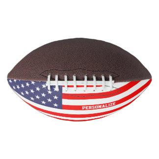 愛国心が強い米国旗のカスタムなフットボールのスポーツのギフト アメリカンフットボール