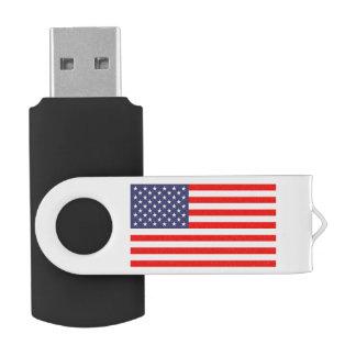 愛国心が強い米国旗の旋回装置USBのフラッシュドライブ USBフラッシュドライブ