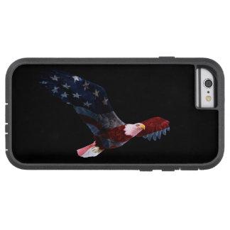 愛国心が強い米国旗の白頭鷲 TOUGH XTREME iPhone 6 ケース
