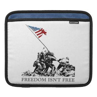 愛国心が強い米国旗硫黄島(カスタマイズ可能な) iPadスリーブ