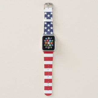 愛国心が強い米国旗 APPLE WATCHバンド