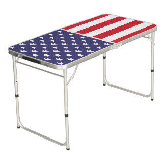 愛国心が強い米国米国 ビアポンテーブル