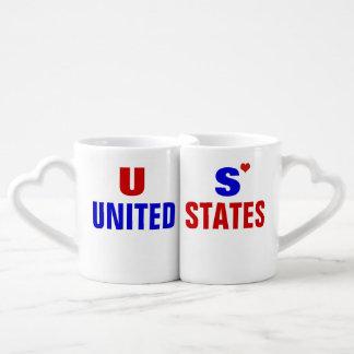 愛国心が強い米国米国 ペアカップ
