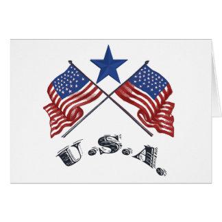 愛国心が強い米国 カード