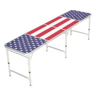 愛国心が強い米国 ビアポンテーブル
