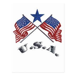 愛国心が強い米国 ポストカード