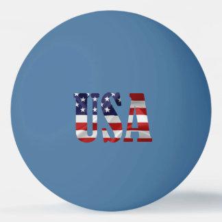 愛国心が強い米国 卓球ボール