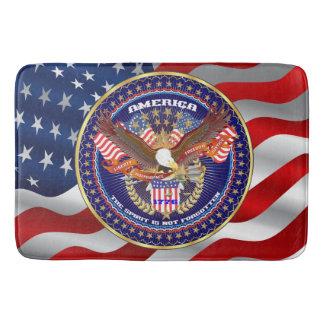 愛国心が強い精神のBath バスマット