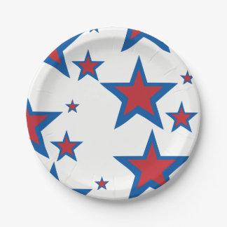 愛国心が強い紙皿 ペーパープレート