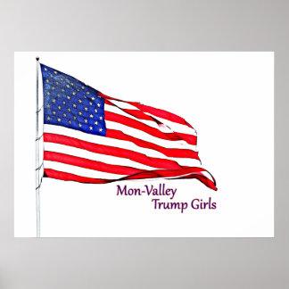 愛国心が強い装飾 ポスター