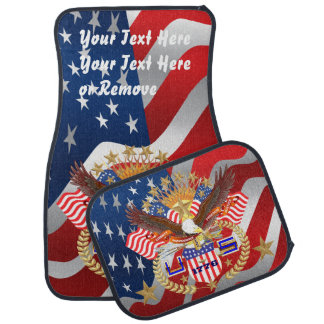 愛国心が強い退役軍人のカーマット(前部背部) カーマット