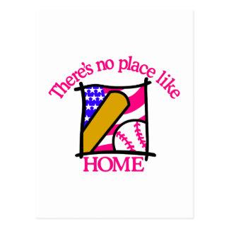 愛国心が強い野球 ポストカード