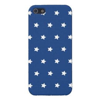 愛国心が強い青および白は自由を主演します iPhone 5 ケース