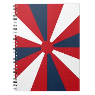 愛国心が強い風車 ノートブック
