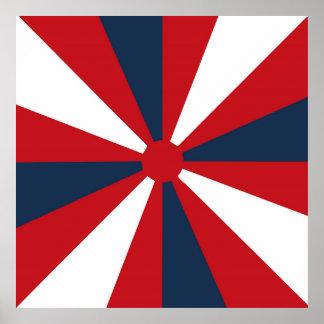 愛国心が強い風車 ポスター