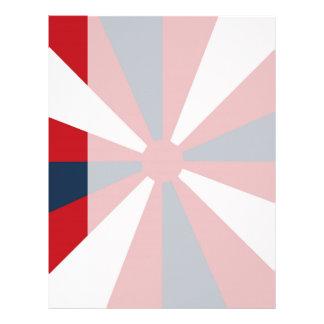 愛国心が強い風車 レターヘッド