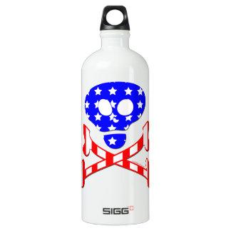 愛国心が強い骨組 ウォーターボトル