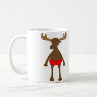 愛国心が強い、か。 アメリカヘラジカ コーヒーマグカップ