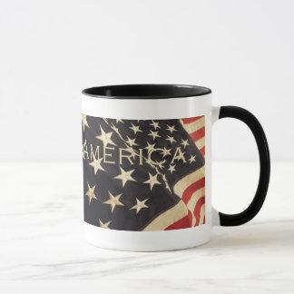 """愛国心が強い""""""""アメリカの""""コーヒー・マグ マグカップ"""