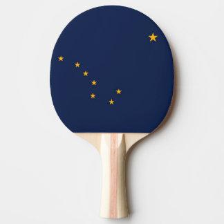 愛国心が強い、アラスカの旗が付いている卓球ラケット 卓球ラケット