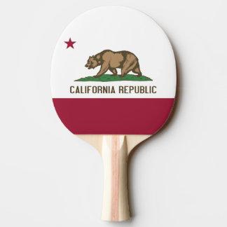 愛国心が強い、カリフォルニアが付いている卓球ラケット 卓球ラケット