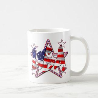 愛国心が強い コーヒーマグカップ