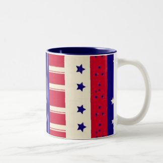 愛国心が強い ツートーンマグカップ
