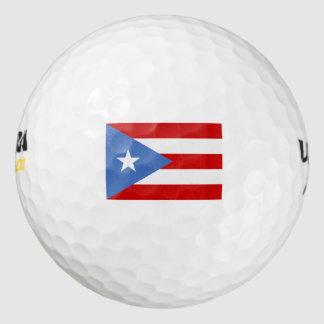 愛国心が強い、プエルトリコの旗 ゴルフボール