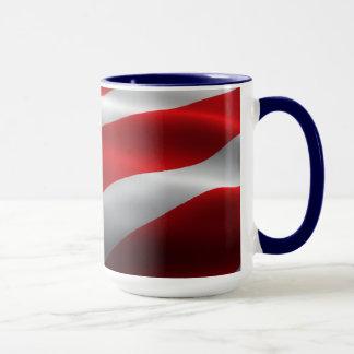 愛国心が強い マグカップ