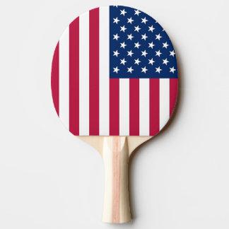 愛国心が強い、米国の旗が付いている卓球ラケット 卓球ラケット