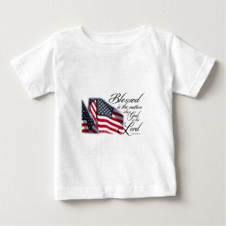 愛国心が強いBlessed国家です ベビーTシャツ