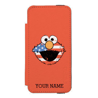 愛国心が強いElmo -動揺してな|はあなたの名前を加えます Incipio Watson™ iPhone 5 財布 ケース