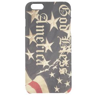 愛国心が強いiPhoneカバー クリア iPhone 6 Plusケース