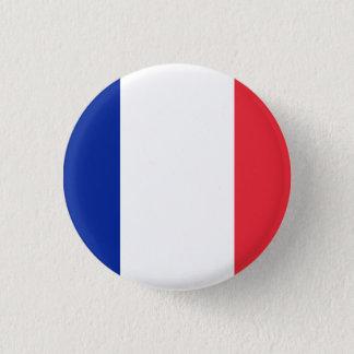 愛国心が強くフランスのな旗 缶バッジ