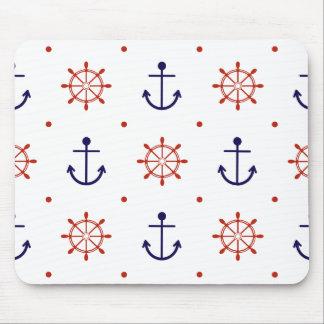 愛国心が強く航海のなパターン マウスパッド