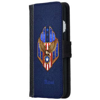 愛国者のワシの盾 iPhone 6/6S ウォレットケース