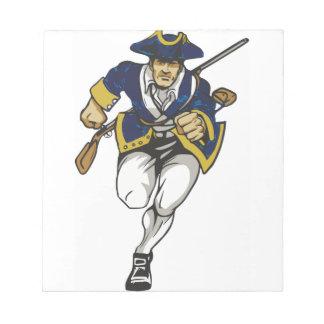 愛国者海軍 ノートパッド