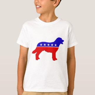 愛国者犬はワイシャツをからかいます Tシャツ