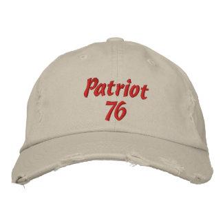 愛国者76 刺繍入りキャップ