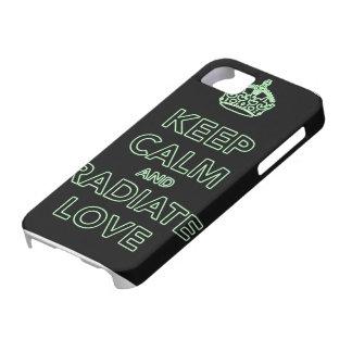 愛場合を放射して下さい iPhone SE/5/5s ケース