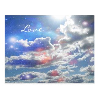 愛天の雲の郵便はがき ポストカード