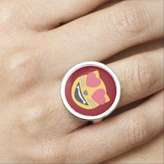 愛子猫猫Emoji 指輪
