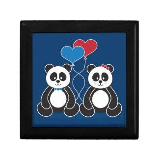 愛宝石箱の甘いパンダ ギフトボックス