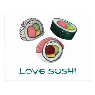愛寿司 ポストカード