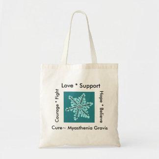愛希望の戦い/治療- Myastheniaの認識度 トートバッグ